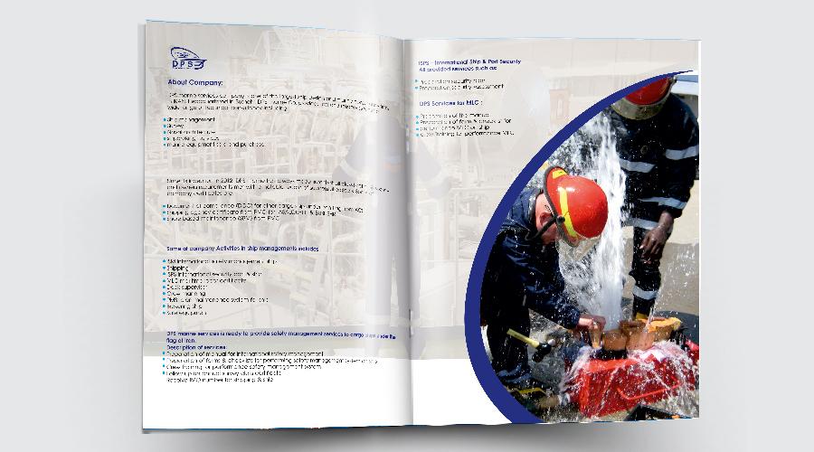 طراحی کاتالوگ شرکت پیکر سیراف