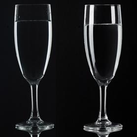 عکاسی از ظروف شیشه ای