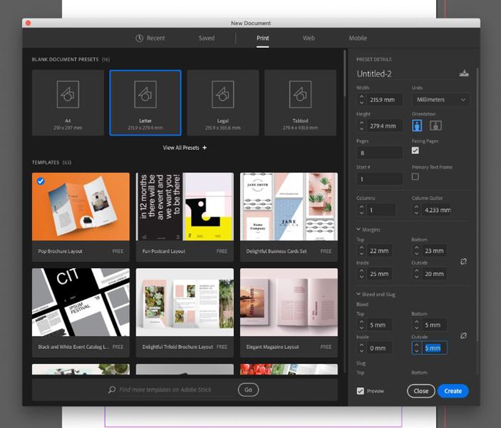 آموزش طراحی کاتالوگ با indesign