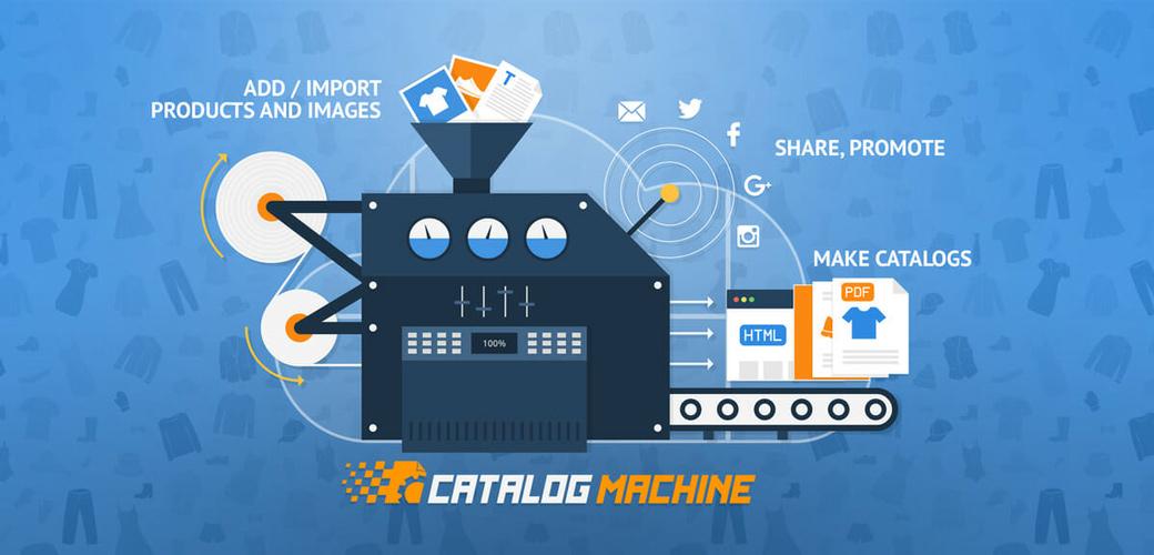 نرم افزار طراحی کاتالوگ Catalog Machine
