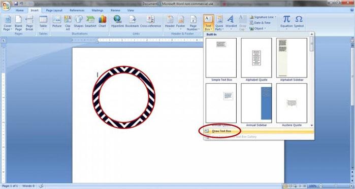 طراحی لیبل زونکن در ورد