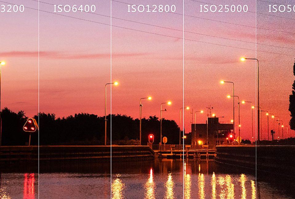 بالاترین ISO دوربین