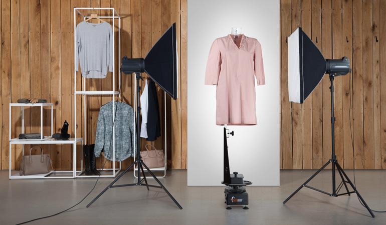 عکاسی تبلیغاتی از لباس