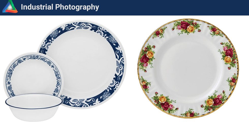 عکاسی تبلیغاتی از ظروف
