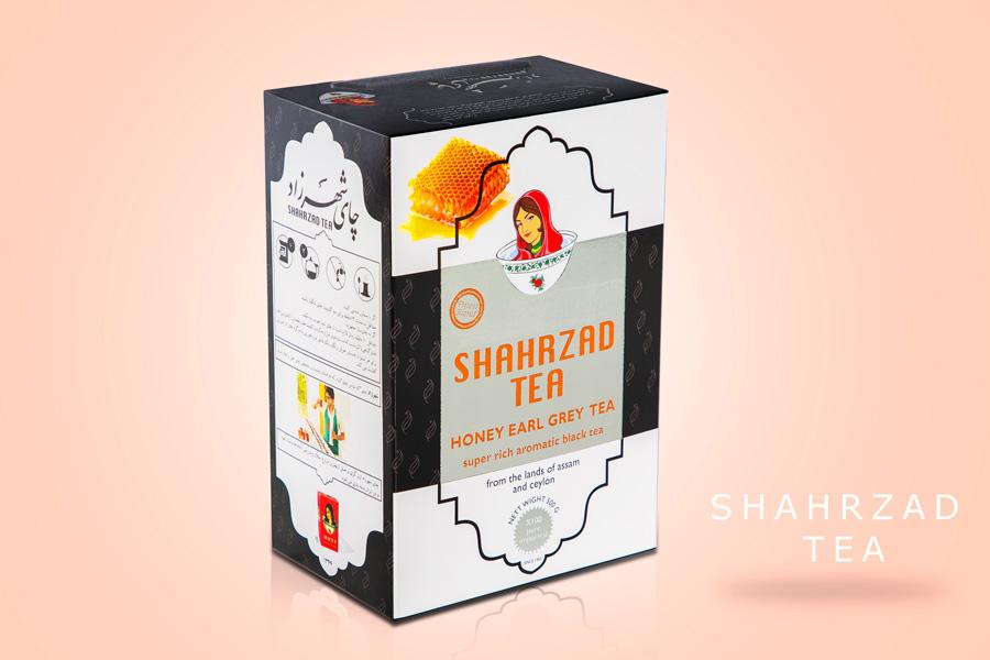 عکاسی تبلیغاتی از چای شهرزاد