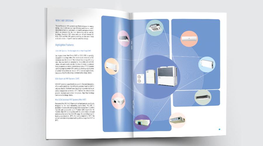 طراحی کاتالوگ شرکت پاناسونیک