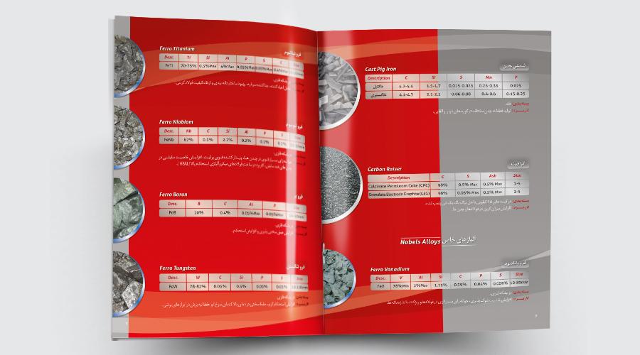 نمونه سوم طراحی کاتالوگ