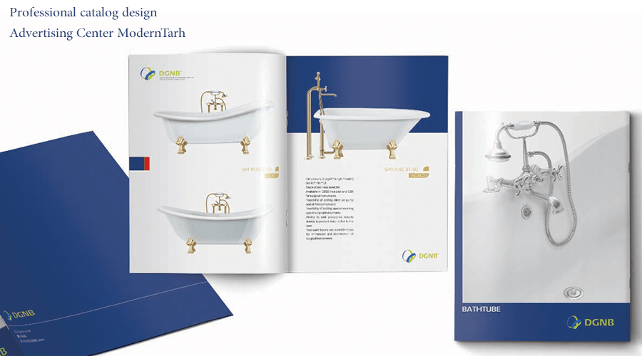 طراحی کاتالوگ شرکت OGNB