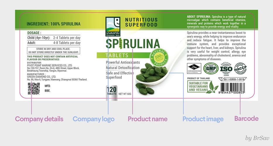 آموزش طراحی لیبل محصولات