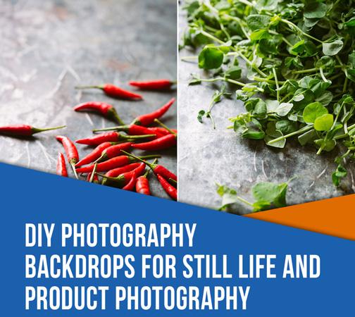 پس زمینه عکاسی برای طبیعت بی جان و عکاسی از محصول