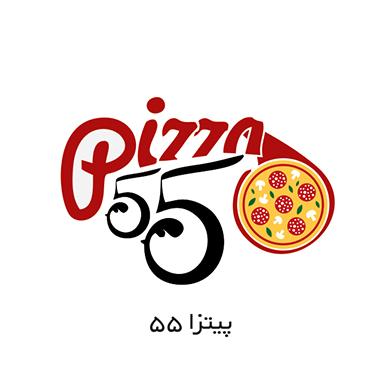 طراحی لوگو پیتزا 55
